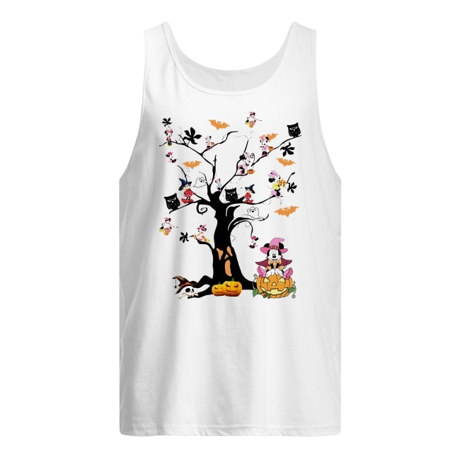 Walt Disney Mickey Happy Halloween Tank Top