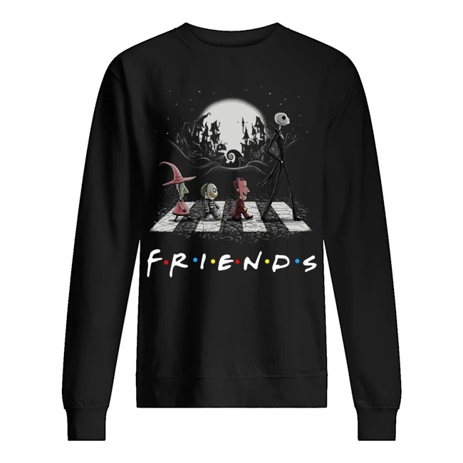 Abbey Road the Nightmare before Christmas Friends TV show Sweater