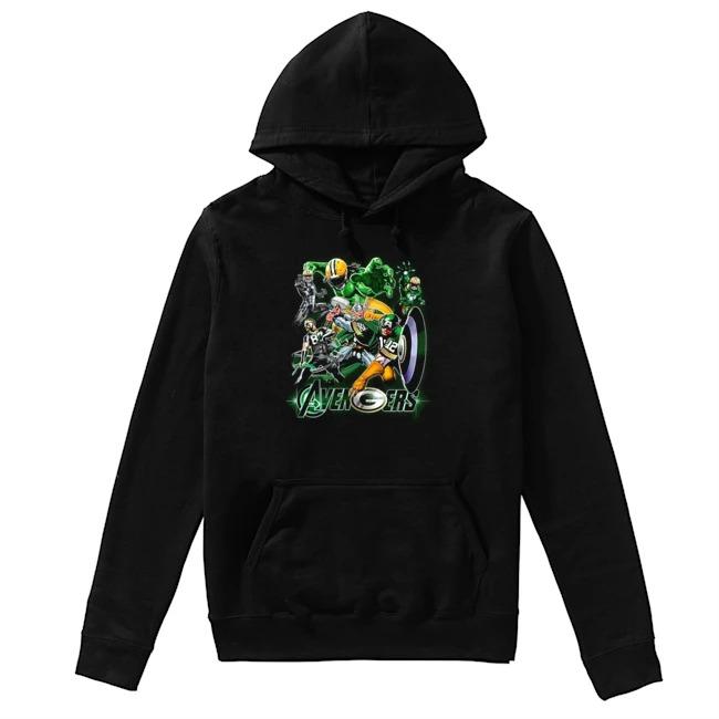 Avengers Green Bay Packers Hoodie
