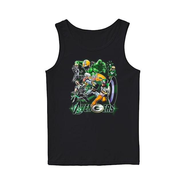 Avengers Green Bay Packers Tank Top