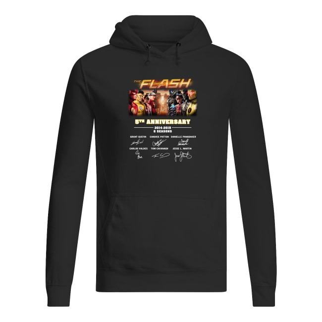 The Flash 5th Anniversary 2014-2019 Hoodie
