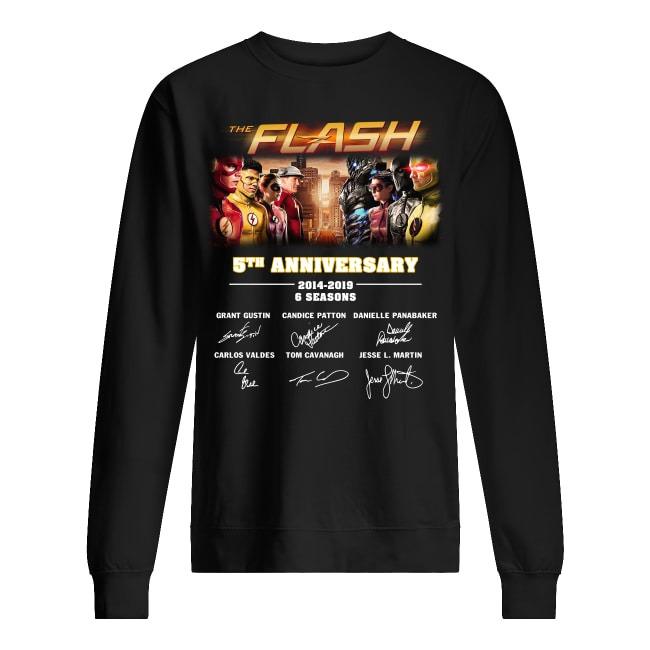 The Flash 5th Anniversary 2014-2019 Sweater