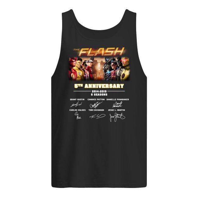 The Flash 5th Anniversary 2014-2019 Tank Top