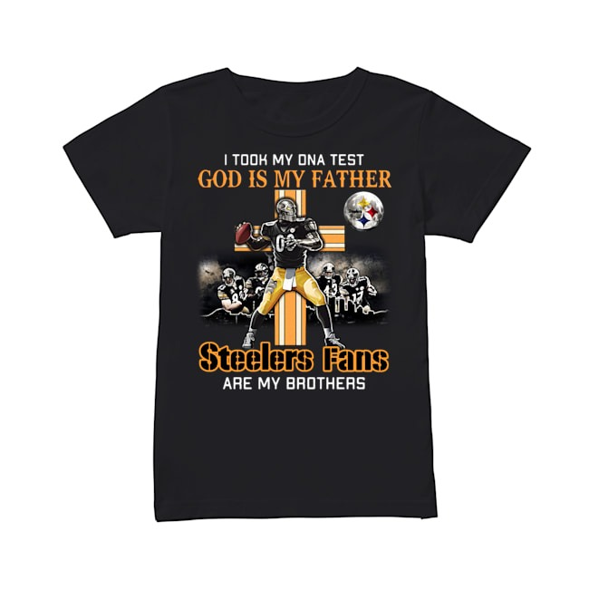 God Is My Father Steelers Fans Ladies Tee