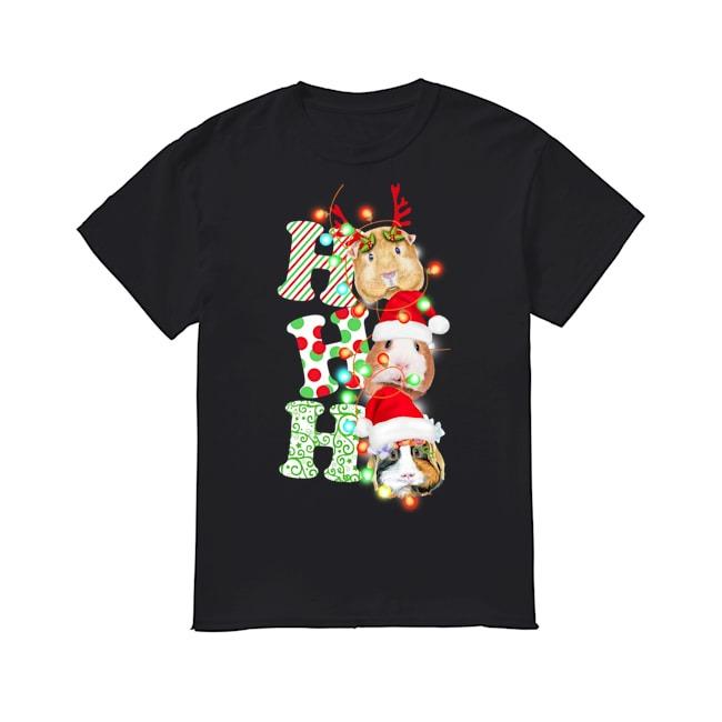 Guinea Pig Christmas shirt