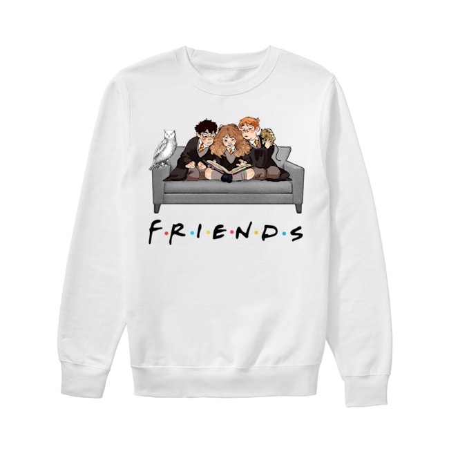Harry Potter Characters Friends TV Show Sweater
