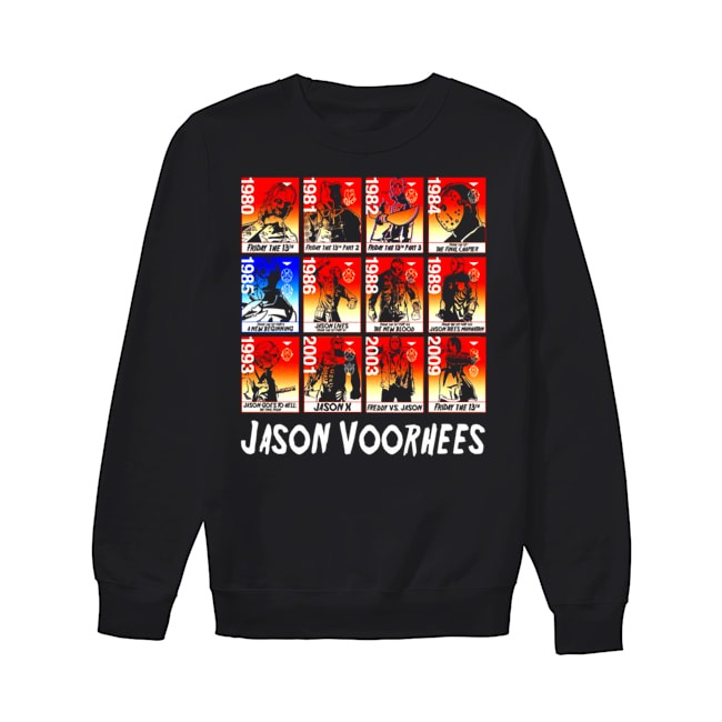 Jason Voorhees and The Evolution Sweater