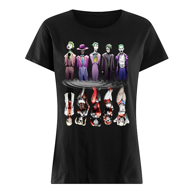 The Joker King DC Comics Ladies Tee