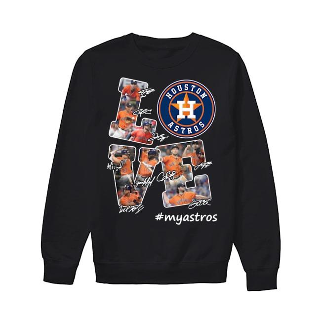 Love Houston Astros signature Sweater