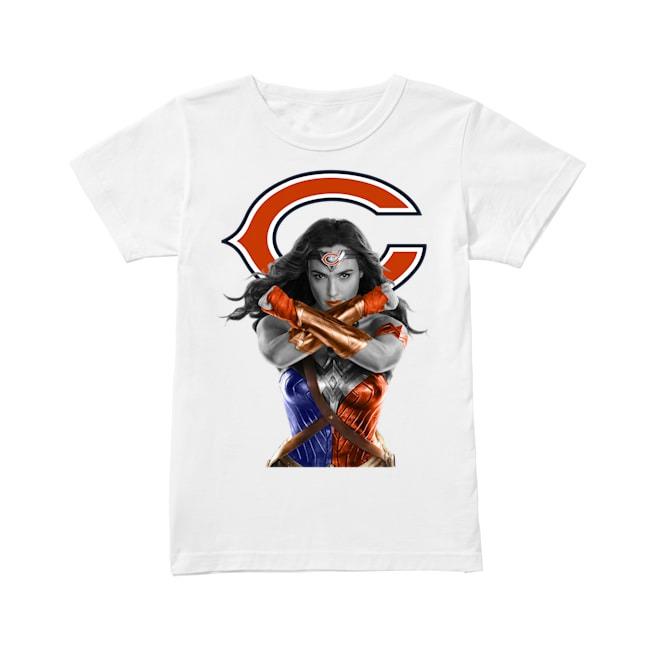 Marvel Chicago Bears Illinois V-neck T-shirt