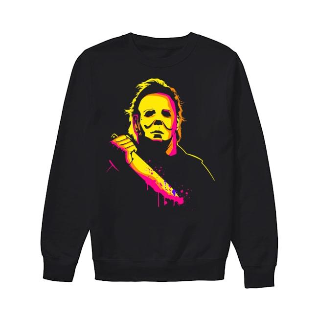 Michael Myers happy halloween Sweater