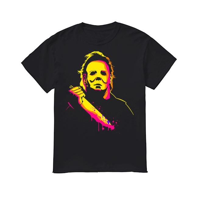 Michael Myers happy halloween shirt