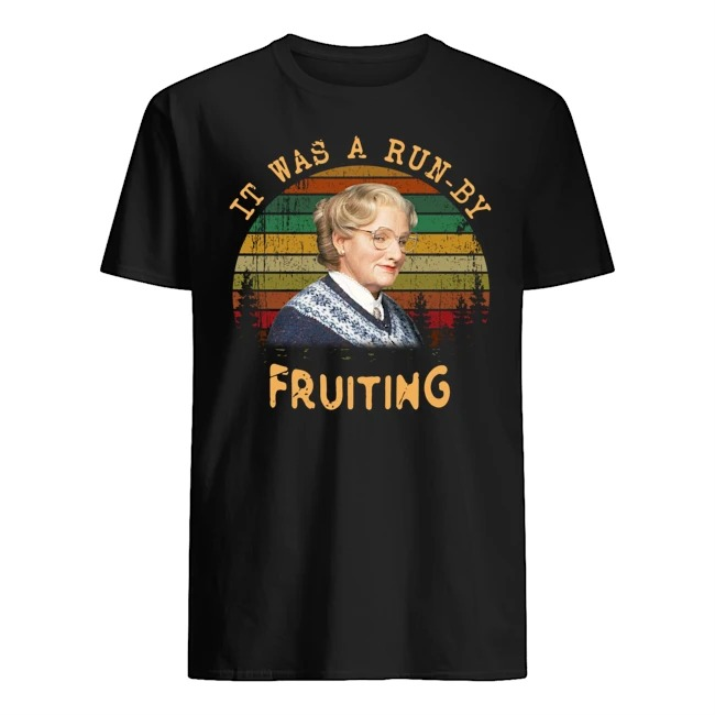 Mrs. Doubtfire Run by Fruiting Vintage shirt