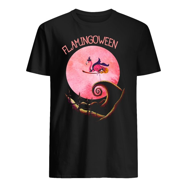 The Nightmare Before Christmas Flamingoween shirt