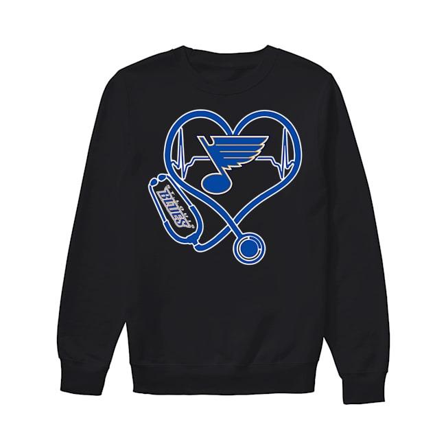 Nurse Heartbeat Louis Blues Sweater