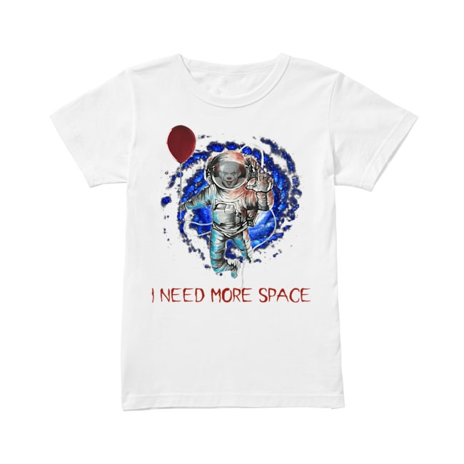 Pennywise IT I need more space Ladies Tee