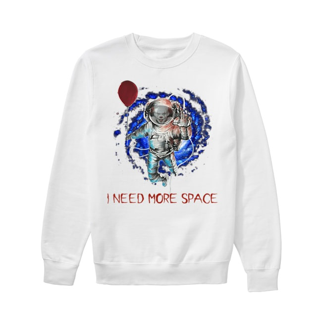 Pennywise IT I need more space Sweater