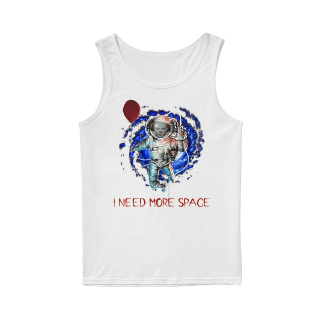 Pennywise IT I need more space Tank Top