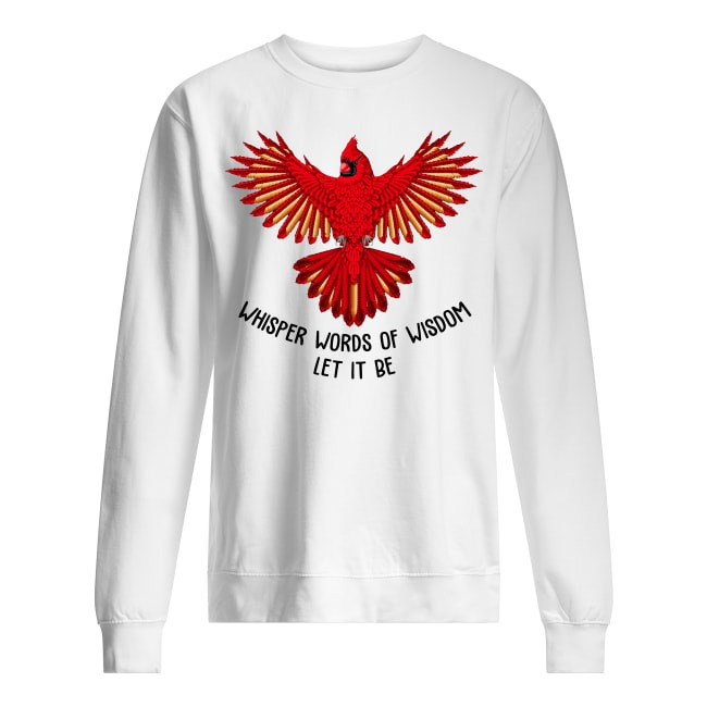 Red Parrot Bird Flying The Beatles Let It Be Sweater