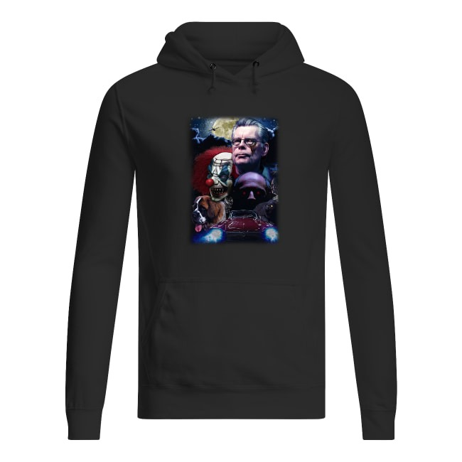 Stephen King and Horror Movies Characters Hoodie