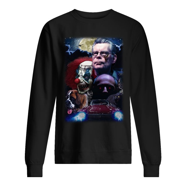 Stephen King and Horror Movies Characters Sweater