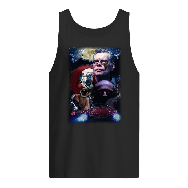 Stephen King and Horror Movies Characters Tank Top