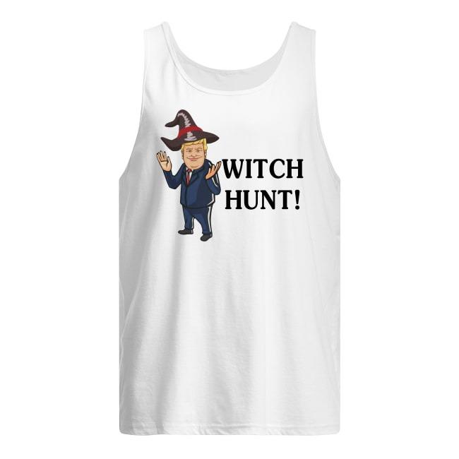 Trump Witch Hunt Halloween Tank Top