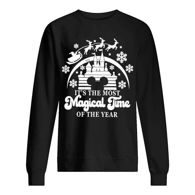 Walt Disney The Most Magical Time Of The Year Merry Christmas Sweater