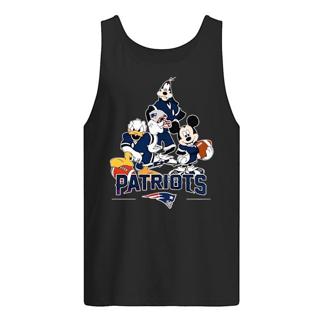 Walt Disney New England Patriots Team Tank Top