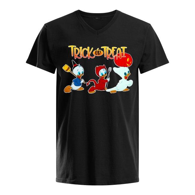 Walt Disney Trick or Treat Halloween V-neck T-shirt