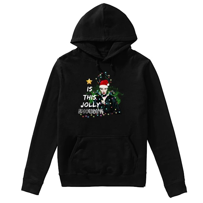 Angelina Jolie Maleficent Is This Jolly Enough Christmas Light Hoodie