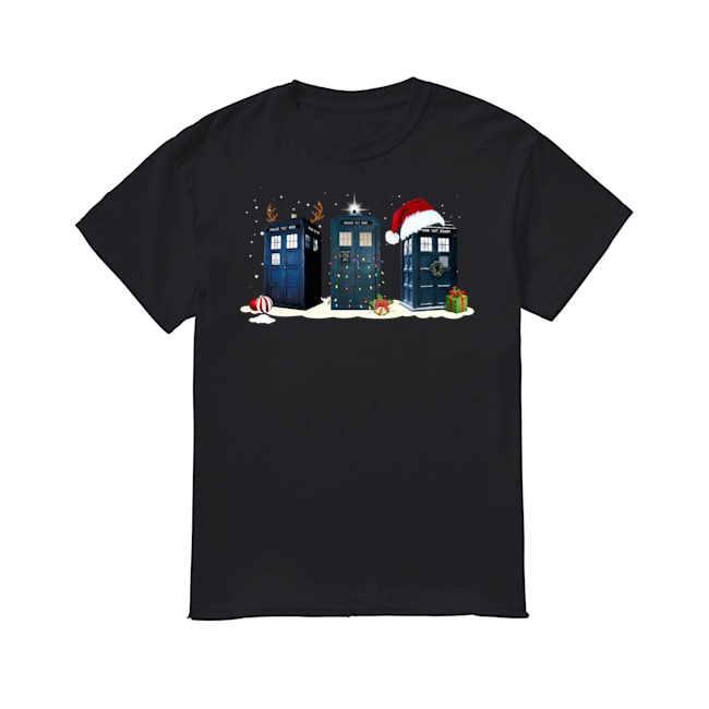 Doctor Who Merry Christmas shirt
