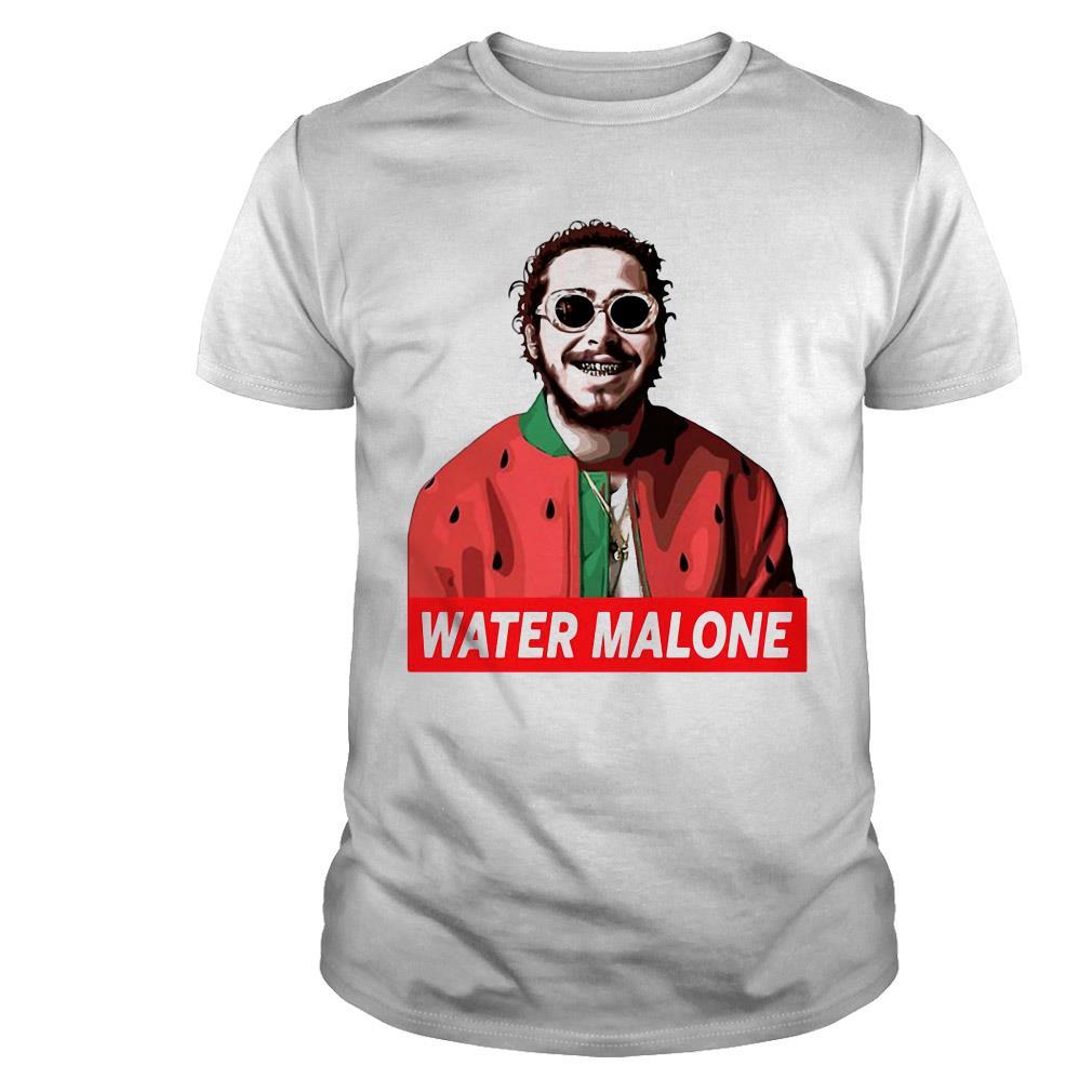 Post malone water malone shirt