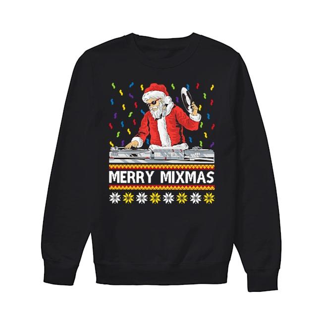 Santa Claus DJ Merry Mixmas Sweater