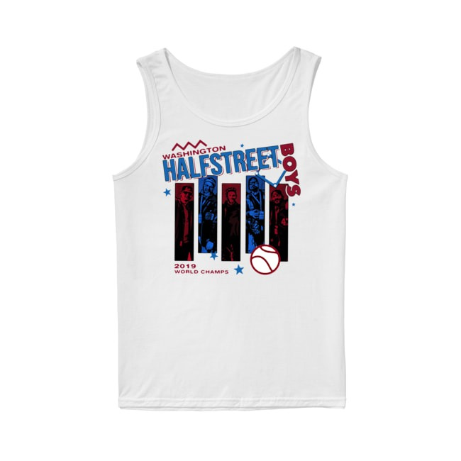Washington Halfstreet boys 2019 world champs Tank Top