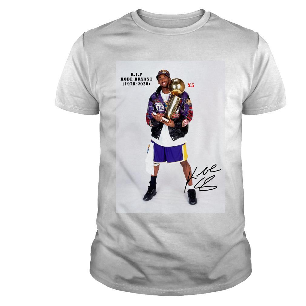 Rip Kobe Bryant 1978-2020 5th Champions