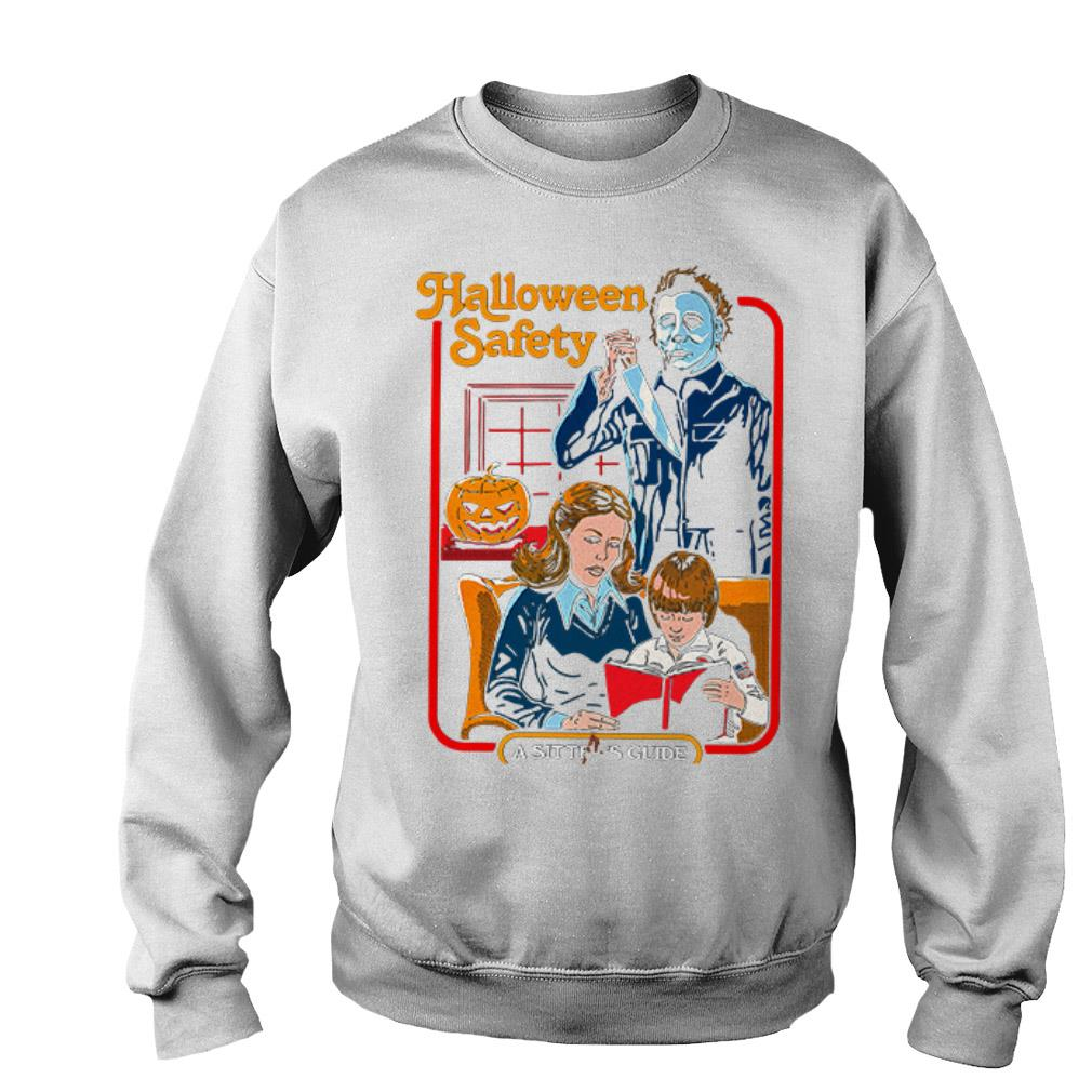 Halloween Safety Michael Myers A sitter's Guide shirt, sweater