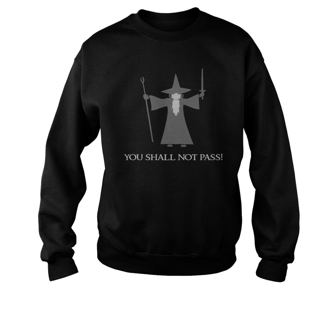 LORD OF THE RINGS GANDALF YOU SHALL NOT PASS SWEATSHIRT