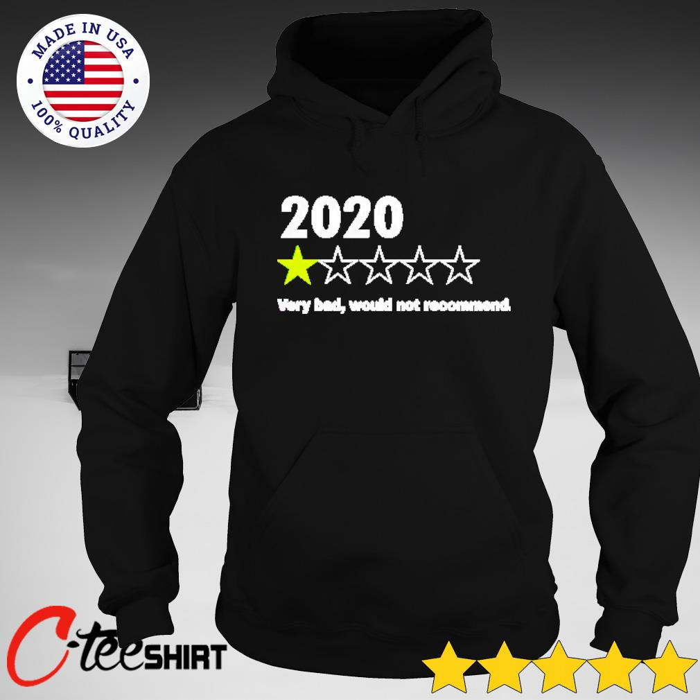 2020 1st star very bad would not recommend s hoodie