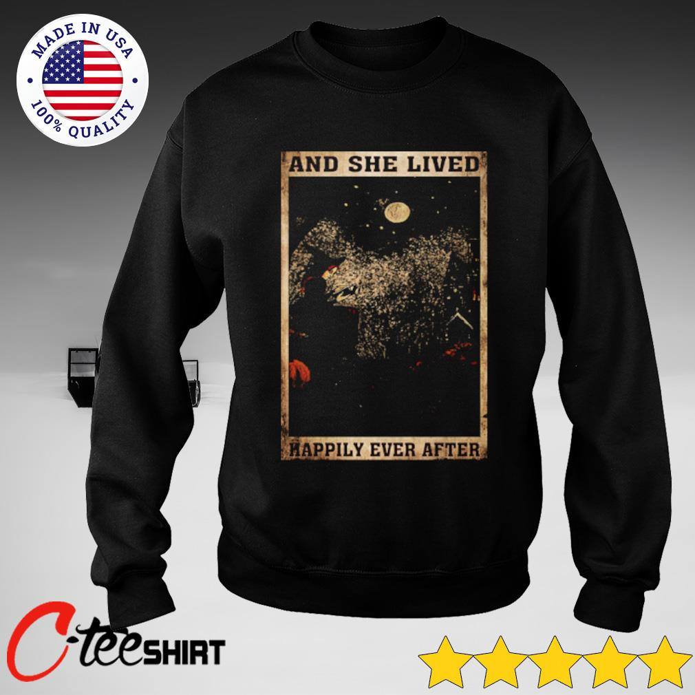 Black Cat and lived happily ever after s sweater