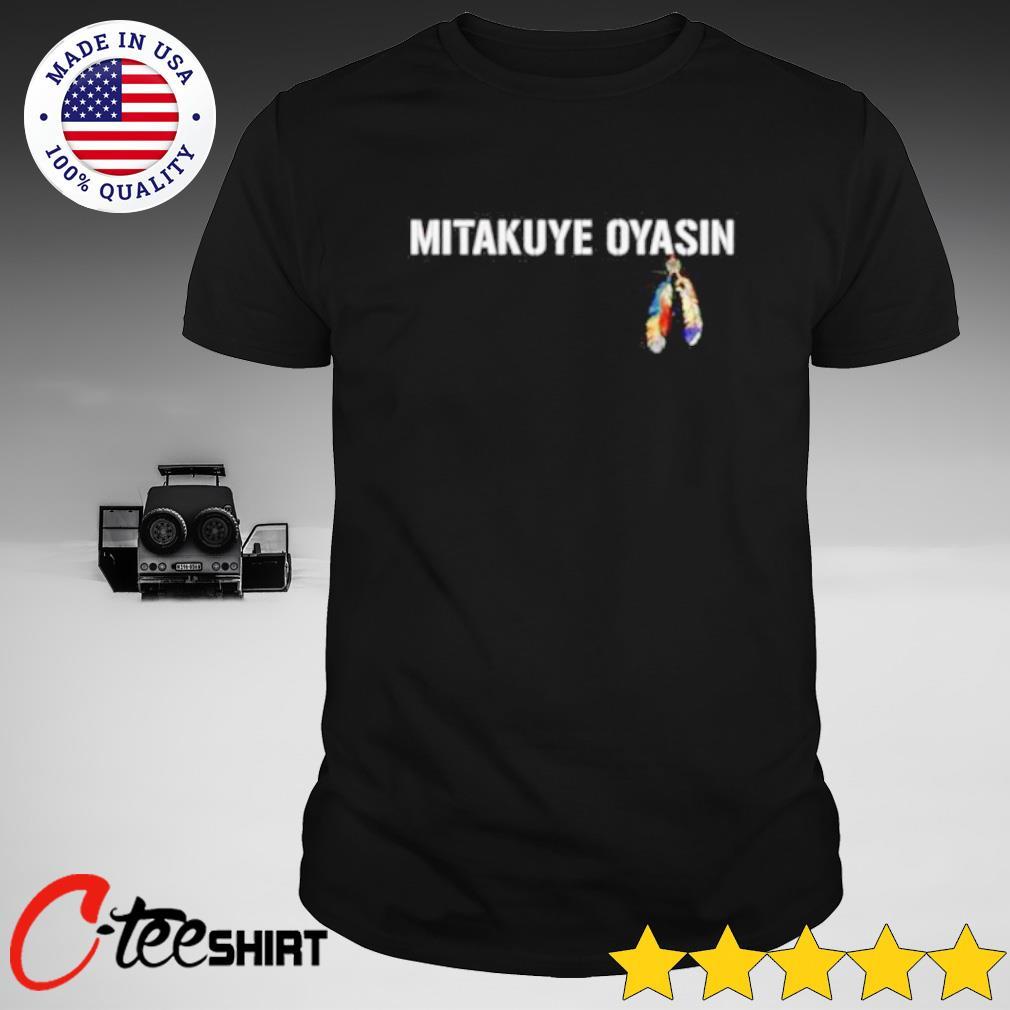 Mitakuye Oyasin feather shirt