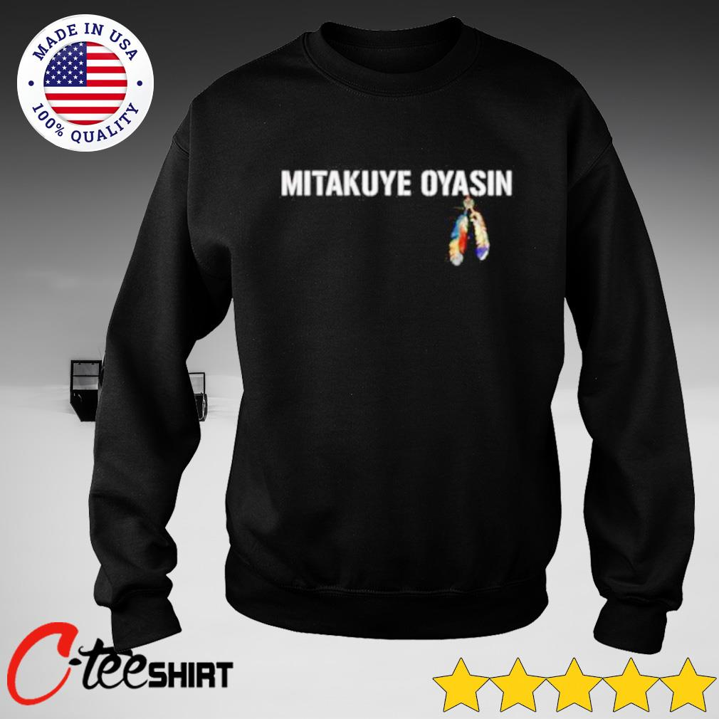 Mitakuye Oyasin feather s sweater