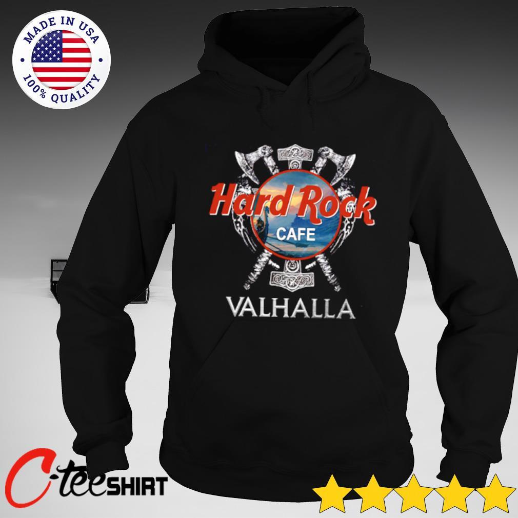 Viking Hard rock cafe Valhalla T-s hoodie