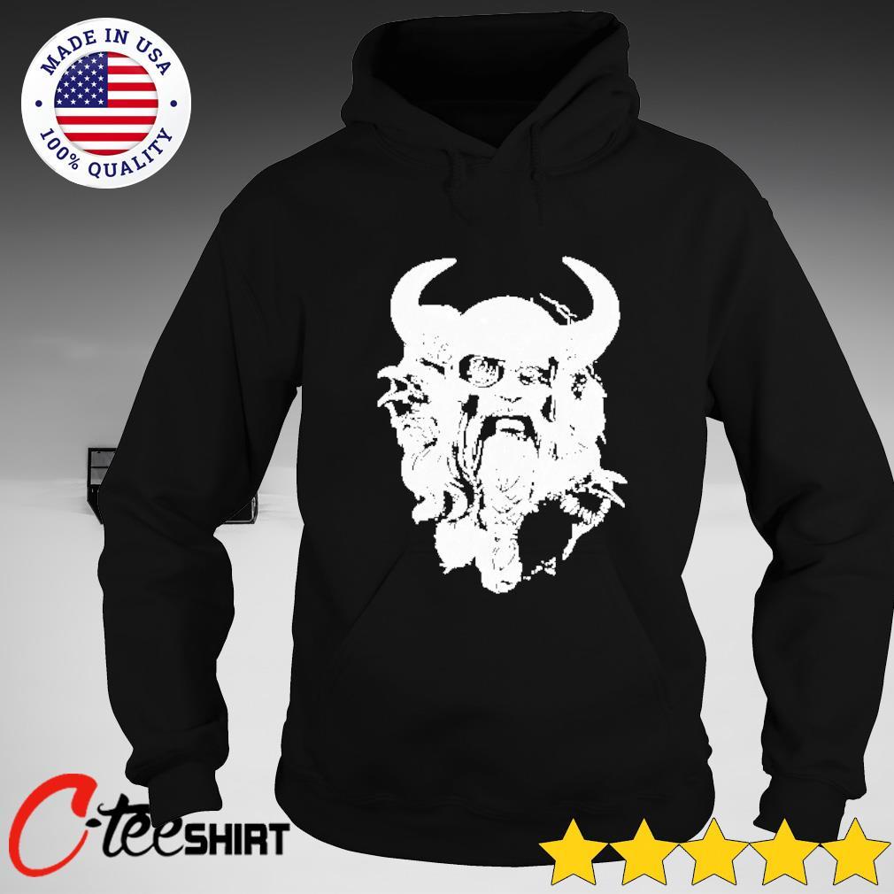 Viking Warrior T-s hoodie