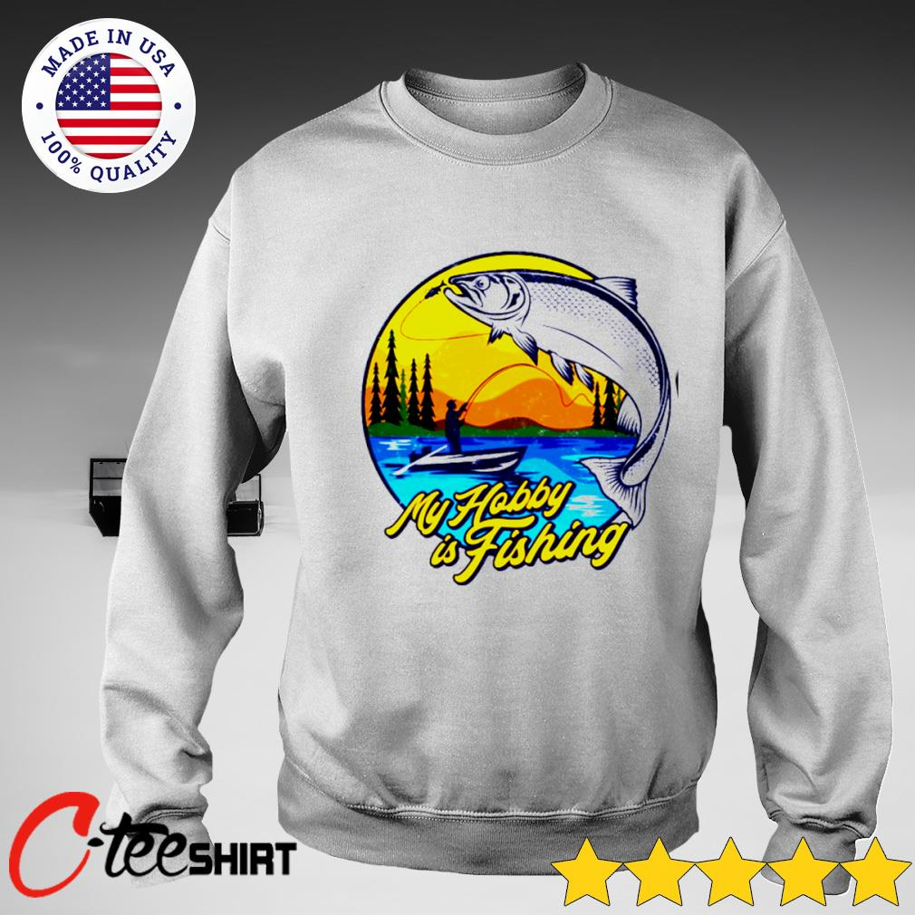 My hobby is fishing s sweater