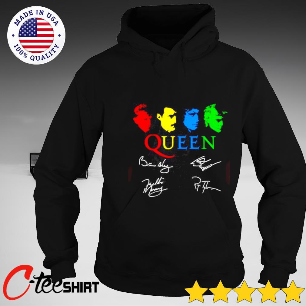 Queen rock band signature T-s hoodie
