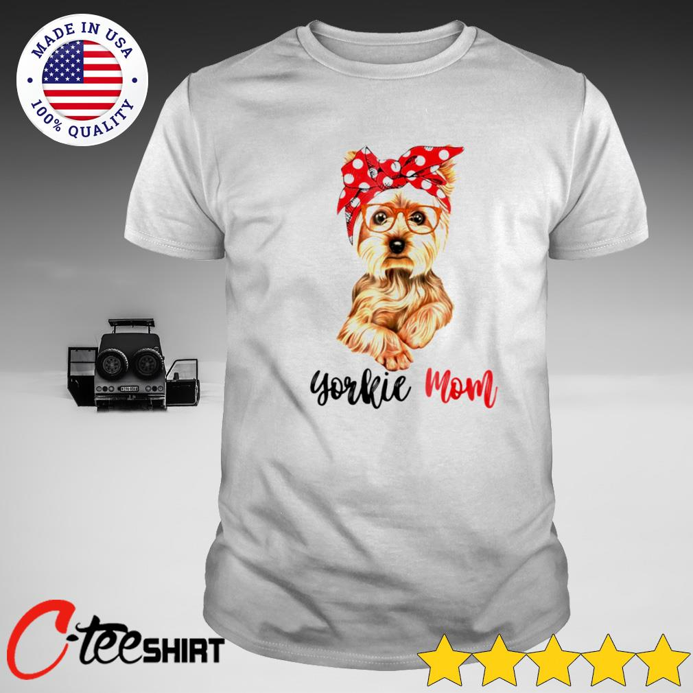 Yorkshire Terrier Mom T-shirt