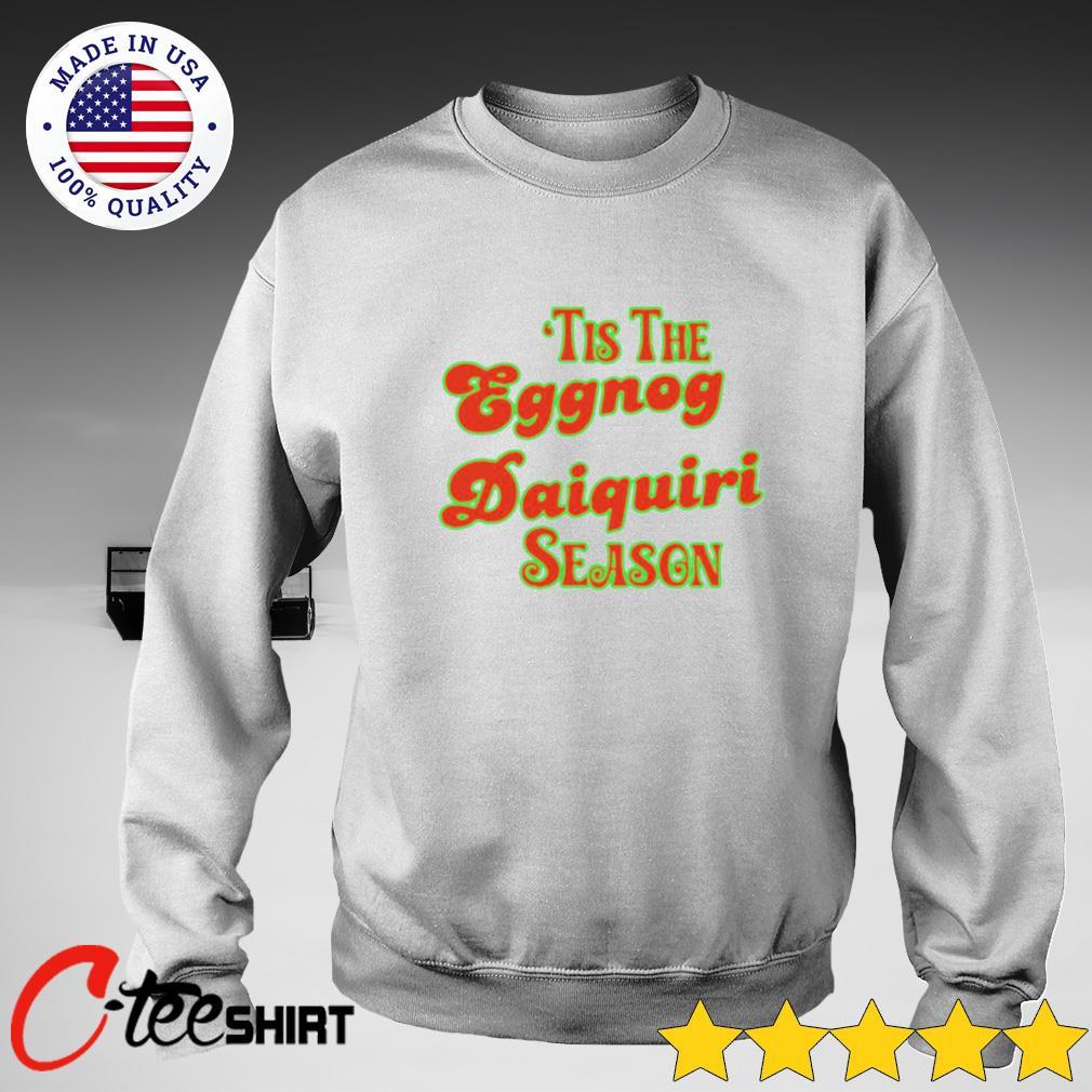 'Tis the eggnog daiquiri season s sweater
